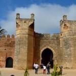 benteng kuno di rabat Maroko