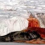 fenomena air terjun darah di antartika
