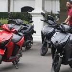 motor gesits merah 2018