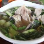 sup ikan taktakan serang