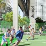 Miami ubah area bawah Jalur Kereta jadi Taman