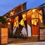 rumah karya arsitek yu sing atap cekung