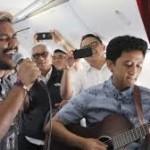Garuda Hadirkan Live Music di Pesawat