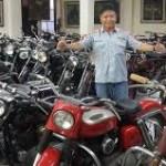Handoko Kolektor Sepeda Motor Klasik Asal Jogya