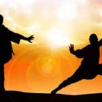 Jago Kungfu Wisatawan China menaklukkan Pencuri di Rusia