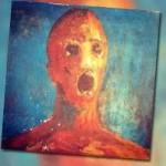 lukisan the anguished man