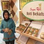 Batik Roti Bekatul dan Kopi kosong di Galeri UKM Jateng