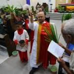 Perayaan Paskah di Katedral Bertema Sila Keempat Pancasila