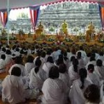 Api Dharma Dan Air Berkah Disemayamkan di Mendut
