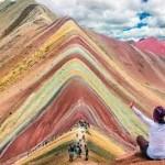 Keindahan Gunung Pelangi Di Peru-Buruan Pecinta Selfie