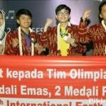 Siswa Indonesia Raih Medali Emas Di Olimpiade Internasional