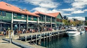 the waterfront hobart