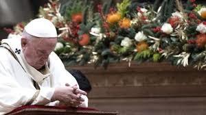 Misa Malam Natal Paus Francis Tuhan Cinta Kita Semua Bahkan Yang Terburuk