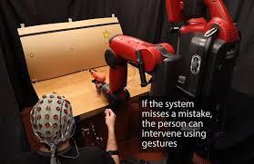MIT Kembangkan Robot Yang Dikendalikan Pikiran