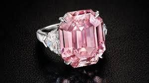 The Pink Legacy Cincin Berlian Berharga 746M