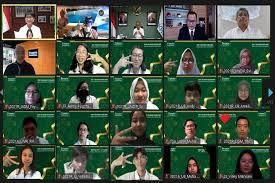 Disaksikan 3 Menteri 170 Mahasiswa Siap Jadi Pemimpin Masa Depan