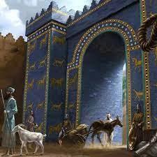 Ishtar Gate Kuno Untuk Dewi Cinta