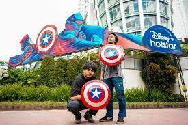 Seniman Indonesia Membuat Mural Terinspirasi Marvel