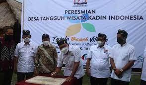Diresmikan Desa Tangguh Wisata Di Lombok Utara