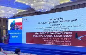 Kata Dubes RI Di Tiongkok-Sarang Burung Walet Menjanjikan